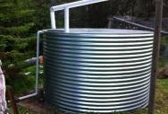 Round Galvanised Steel Tank