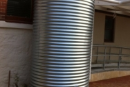 3 Ring high Galv Rainwater Tank