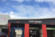 Concave Curved Roofing for Eco Carwash  Bunbury