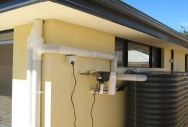 Monument Slimline Rainwater Tank with Pump