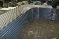 Custom L Shaped Garden Bed - Deepocean