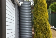 Oblong Rainwater Tanks - Shale Grey