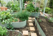 Raised Garden Beds - Pale Eucalypt