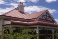 Bullnose Roofing - Manor Red