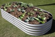 Zincalume Rectangular Garden Bed