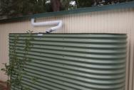 Oblong Rainwater Tank - Pale Eucalypt