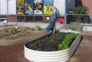Oblong Raised Garden Bed - Classic Cream