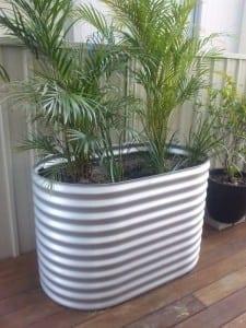 Oblong Raised Garden Planter - 800 High Zincalume