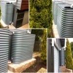 3 Slimline Rainwater Tanks – Windspray