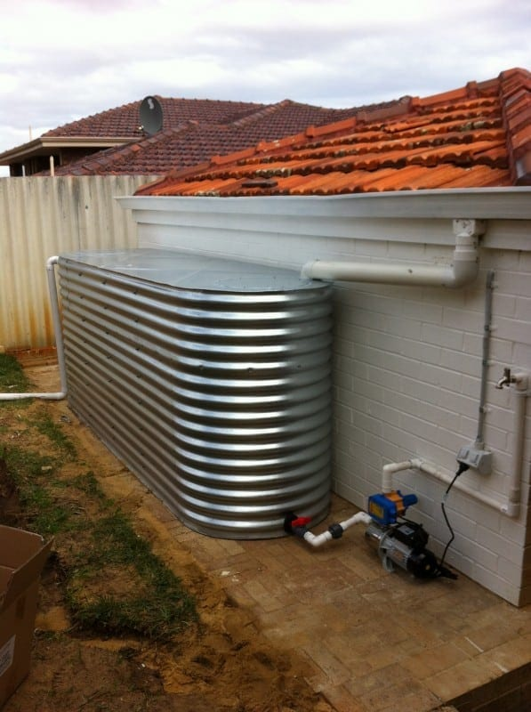 Slimline Tanks In Perth Western Australia Rainfill Tanks