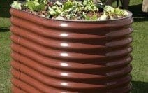 800 High Oblong Planter
