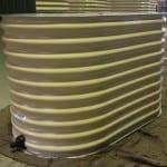 Paperbark slimline Rainwater Tank – 500 Litres