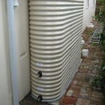 Classic Cream Oblong Tank with 2 tap fittings