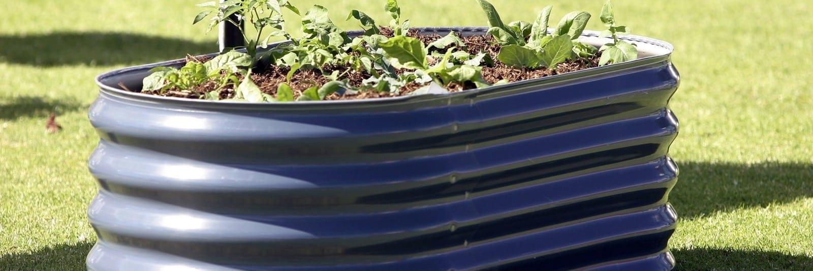 Tank planters
