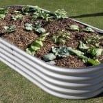 Rectangular Garden Bed – 400 High Zincalume