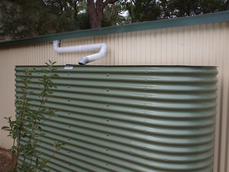 Slimline Rainwater Tank as featured on The Garden Gurus