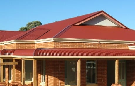 Curved Roofing in Perth, WA