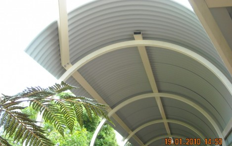 Curved Roof Sheets - Barrel Vault Curve
