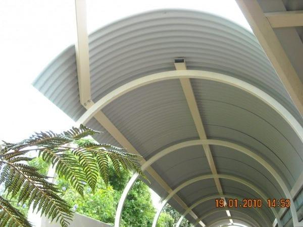 Curved Roof Sheets - Barrel Vault Curve
