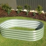 Rectangular Raised Garden Bed – 1000x1500x400 Pale Eucalypt