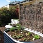 Rectangular Raised Planter – 800 High Zincalume