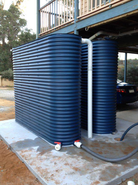 Amid Dwindling Water Supply, Owning Water Tanks May Be a Viable Option